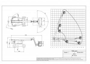 CAD Zeichenservice, z.B. für Kranvermieter, Arbeitsbühnenvermieter und Schwertransportunternehmen