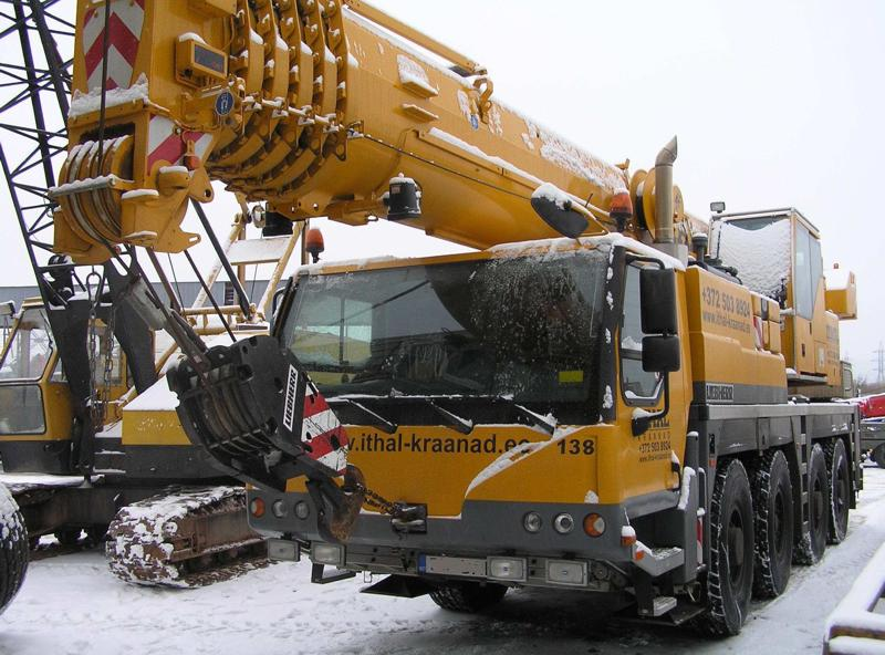 Liebherr LTM 1070-4.1 stolen from Ithal-Kraanad AS