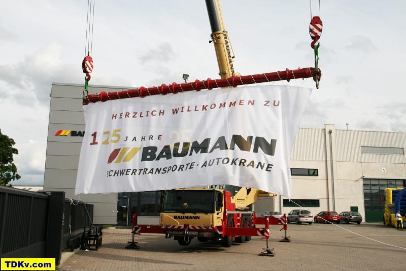 Baumann Schwertransporte Kundentag 2013 aus Anlass des 125 jährigen Betriebsjubiläums
