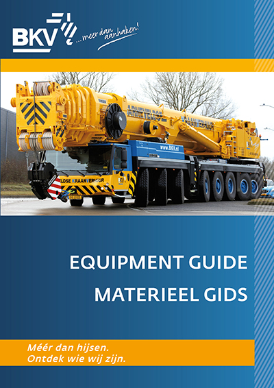 Equipment guides for crane hire companies