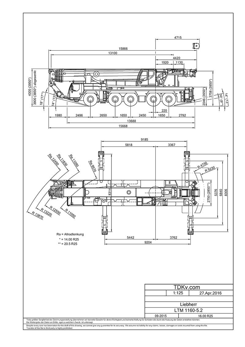 CAD Kran-Zeichnungen | TDKv