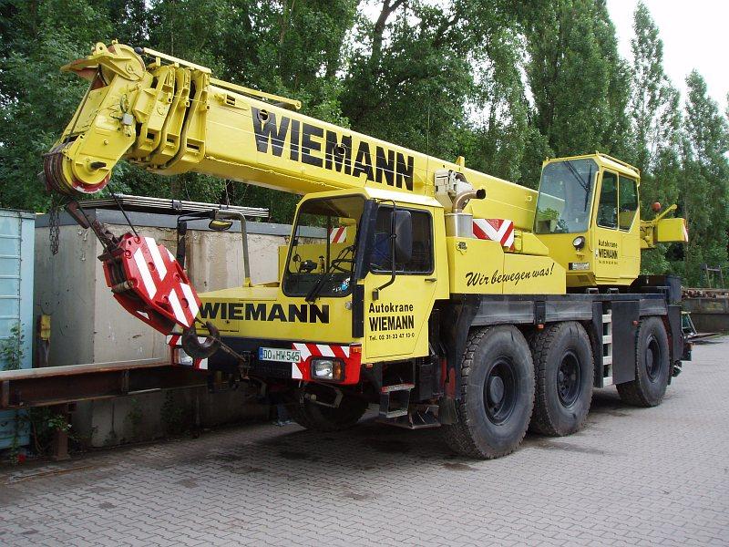 Liebherr LTM 1040 von Wiemann Autokrane in Dortmund gestohlen