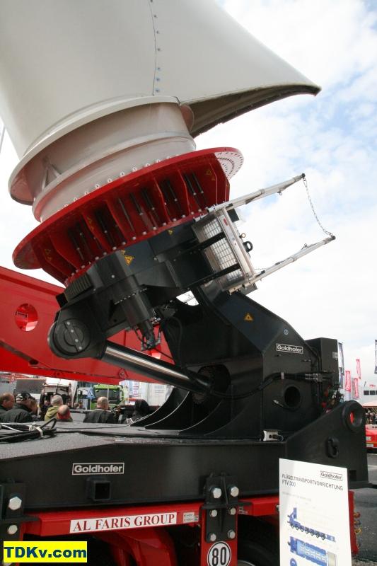 rotorblätter windkraftanlage transport