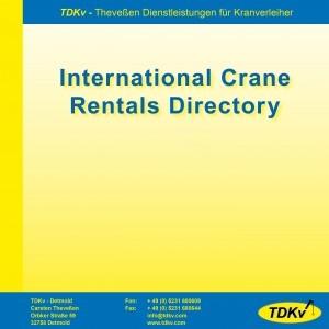 International Crane Rentals Directory