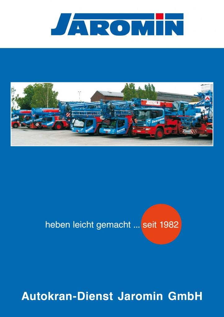 Zweites Tabellenbuch für Jaromin Autokrandienst in Oberhausen
