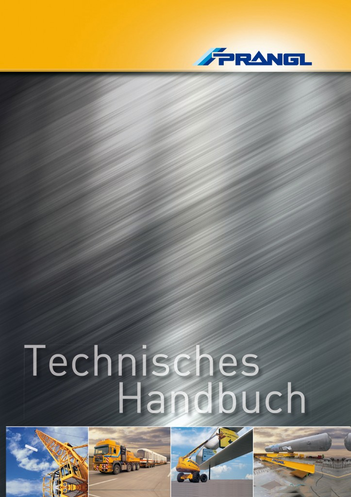Tabellenbuch für Prangl Kran- und Arbeitsbühnenvermietung