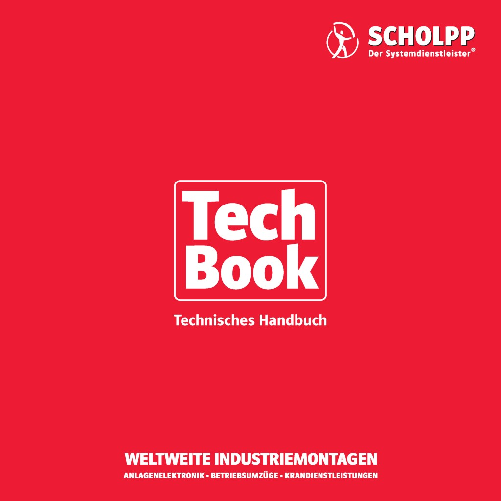 Equipment guide for Scholpp: The TechBook