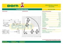 Arbeitsbühnen-Datenblätter für Dorn-Lift, Lauterach