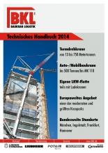 Crane guide BKL Baukran Logistik 2014