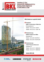 BKL mobile and tower crane guide