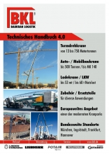 Equipment guide BKL Baukran Logistik 2016