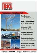 Equipment guide BKL Baukran Logistik 2016