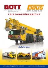 Imagebroschüre / Lesitungsübersicht für Bott und Gaus