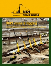 Burt Crane - Crane load chart book 2016