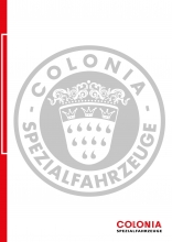 Equipment guide Colonia Spezialfahrzeuge 2015