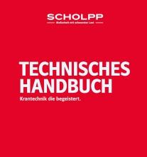 Equipment Handbook for Scholpp Kran & transport, Stuttgart