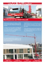 Flyer mobile folding cranes Kran Saller
