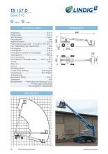 Datenblätter für Lindig Arbeitsbühnen-Katalog