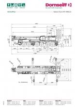 Tadano ATF 400G-6 load chart for Dornseiff