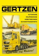 Gertzen corporate brochure and load chart