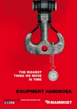 DIN A6 equipment handbook for Mammoet Nederland