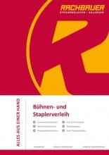 Rachbauer - Equipment hire catalogue 2016