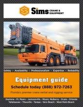 Sims Crane - Load chart book 2017