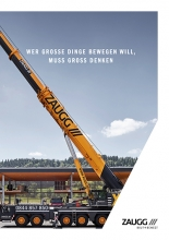 DIN A6 crane guide for ZAUGG AG Rohrbach