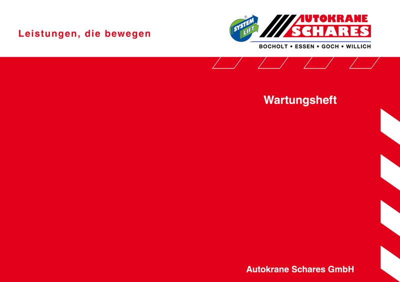 Autokran-Wartungsheft für Schares Autokrane in Bocholt